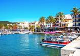 Der Hafen von Port d'Andratx ist einer der schönsten Häfen Spaniens.