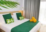 Beispiel eines Doppelzimmers Twin Room im Hotel BQ Paguera Boutique