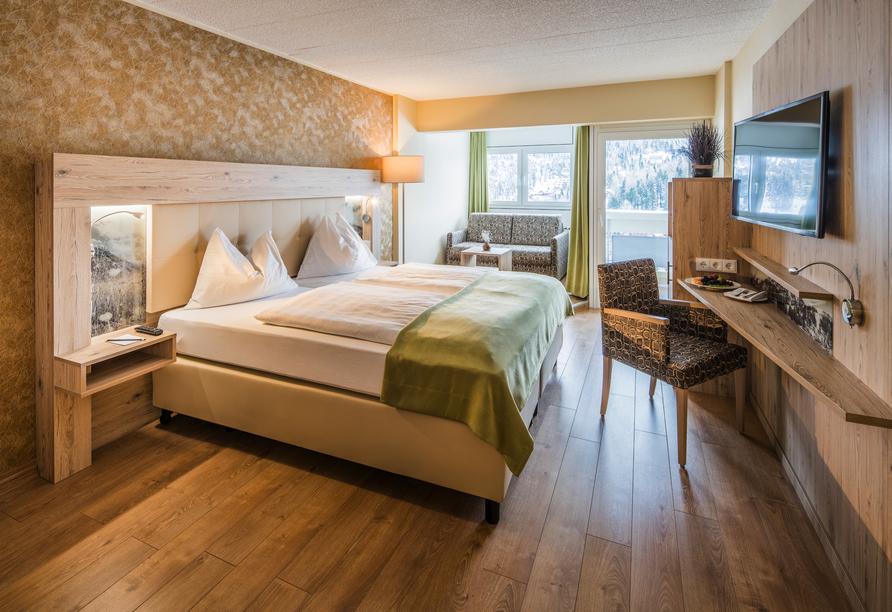 Panorama Hotel Turracher Höhe in Ebene Reichenau, Österreich, Zimmerbeispiel