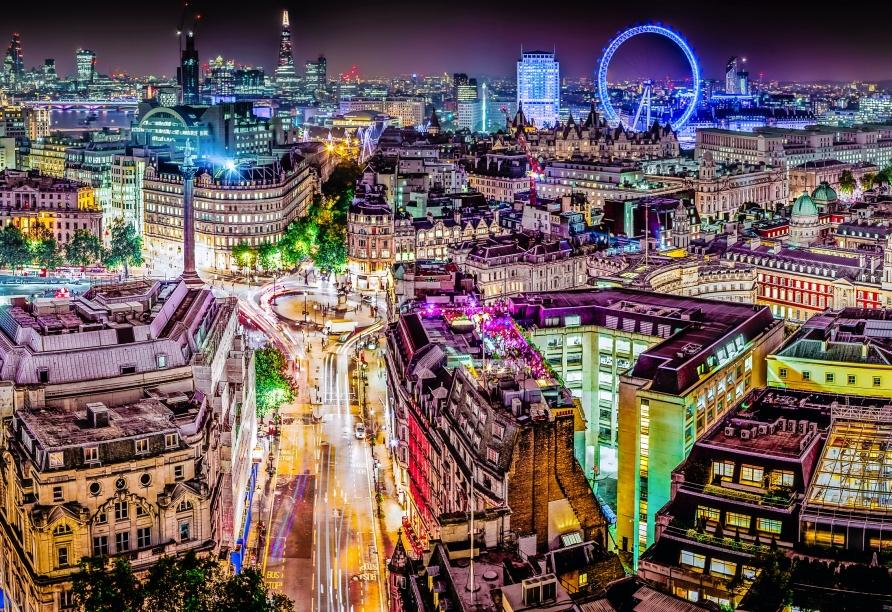 St. Giles London Hotel, London Nacht