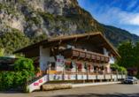 Gasthof Rafting Alm in Haiming, Österreich, Außenansicht