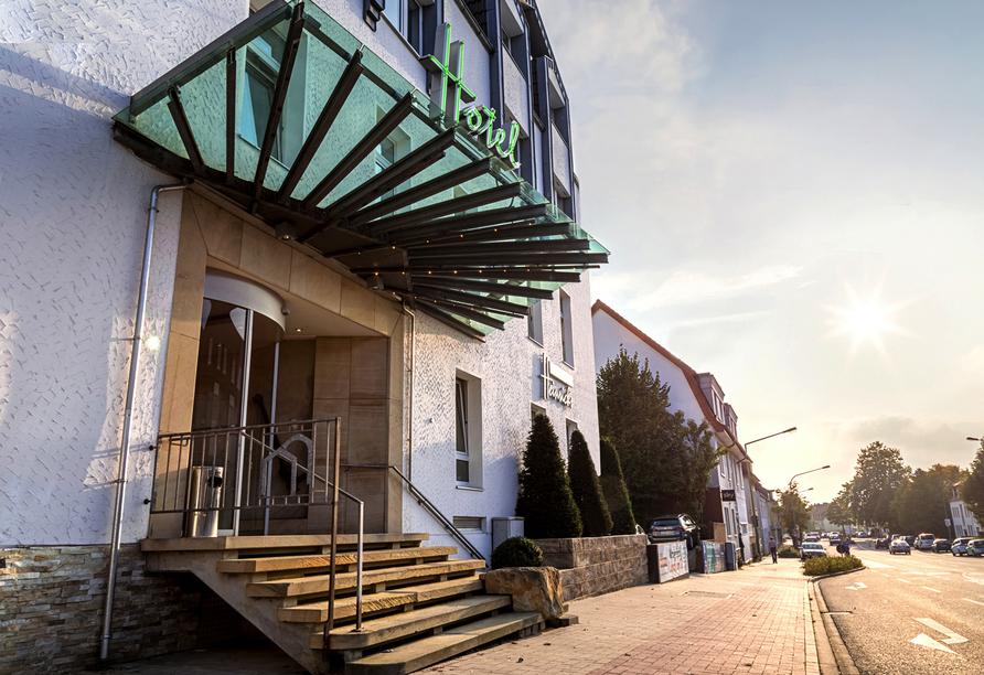 Außenansicht vom Hotel Restaurant Westerkamp Osnabrück