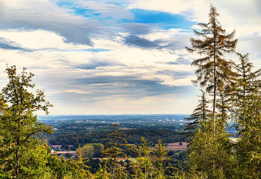 Blick Richtung Osnabrück im Natur- und UNESCO-Geopark TERRA.vita