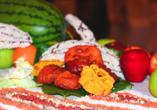 Zum traditionellen Essen auf Sri Lanka gehören nicht nur Meeresfrüchte, Reis & Curry - auch Süßspeisen stehen auf dem Speiseplan.