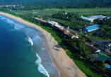 Luftaufnahme vom Beispielhotel Long Beach Resort