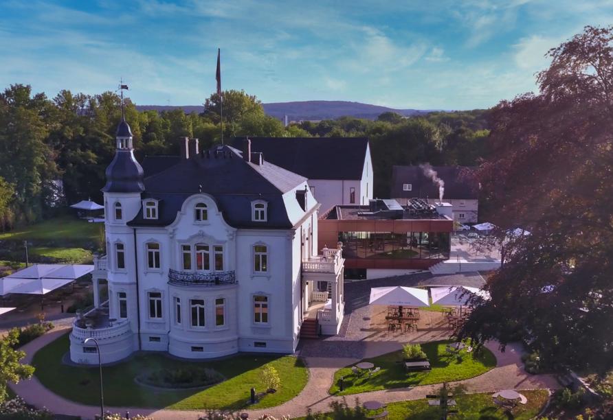 Hotel villa raab in Alsfeld, Außenansicht