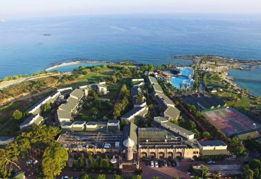 Hotel Incekum Beach Resort, Außenansicht