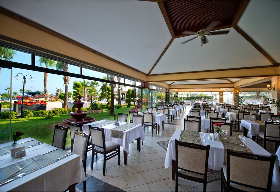 Hotel Incekum Beach Resort, Restaurant