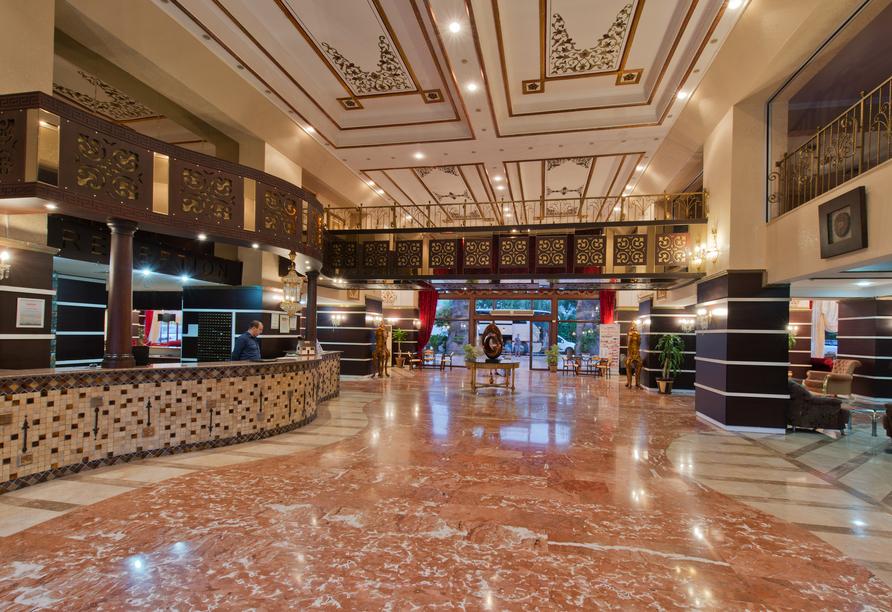 Hotel Incekum Beach Resort, Rezeption