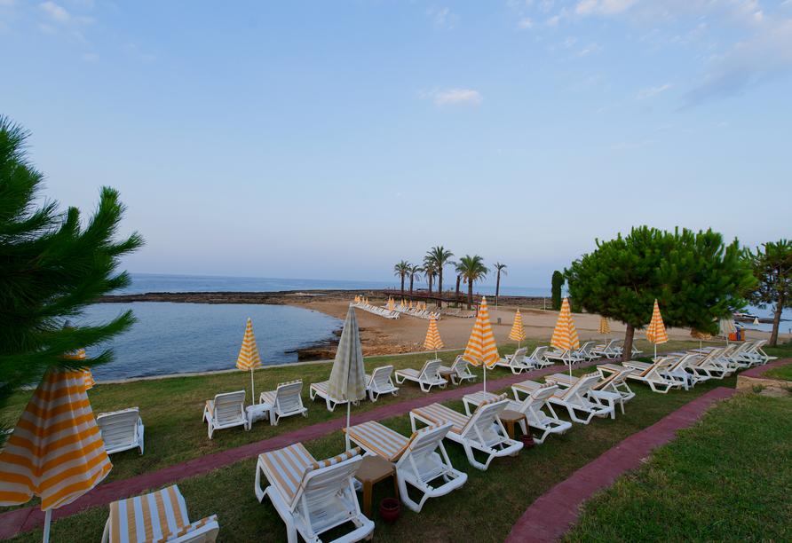 Hotel Incekum Beach Resort, Sonnenterrasse