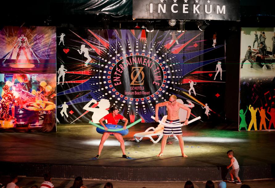 Hotel Incekum Beach Resort, Unterhaltungsprogramm