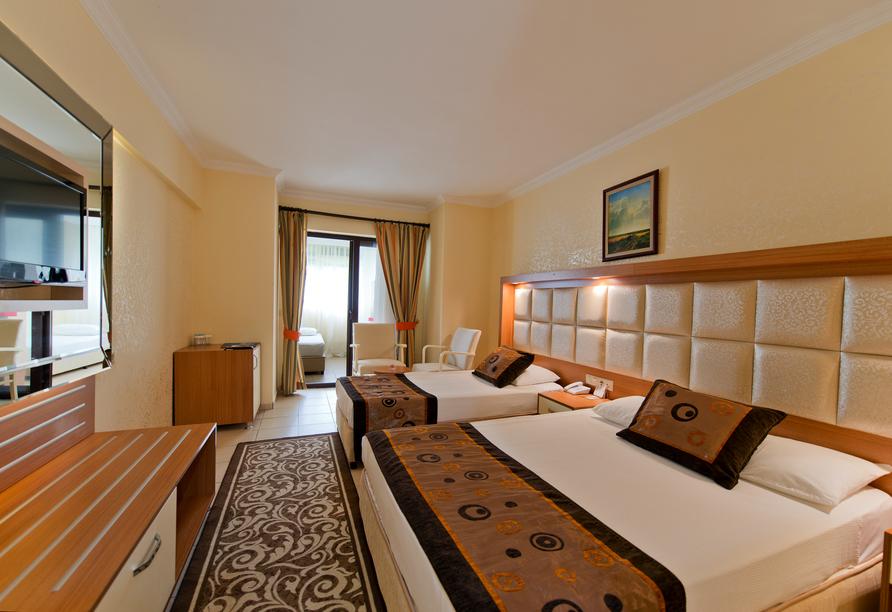 Hotel Incekum Beach Resort, Familienzimmer