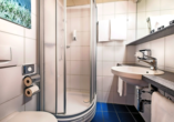 Beispiel eines Badezimmers im Leonardo Boutique Hotel Rigihof Zurich