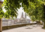 Entdecken Sie die schönsten Plätze von Zürich!