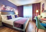 Beispiel eines Doppelzimmers Comfort im Leonardo Boutique Hotel Rigihof Zurich