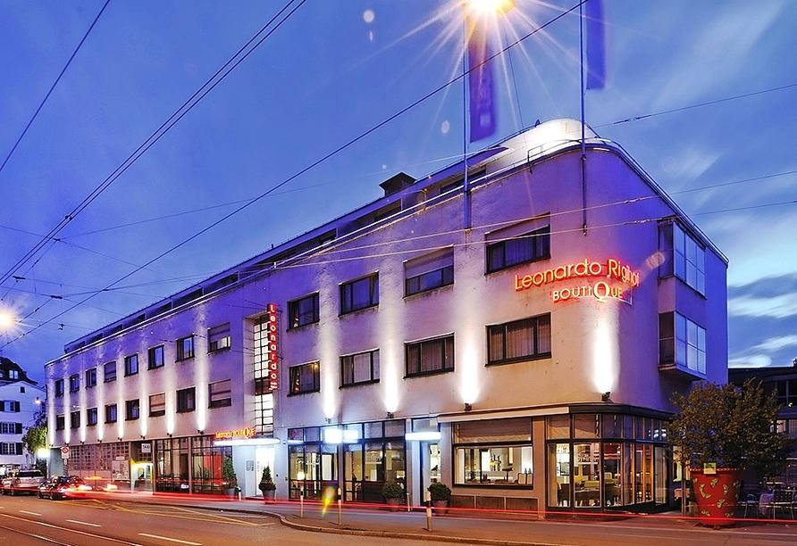 Außenansicht des Leonardo Boutique Hotels Rigihof Zurich
