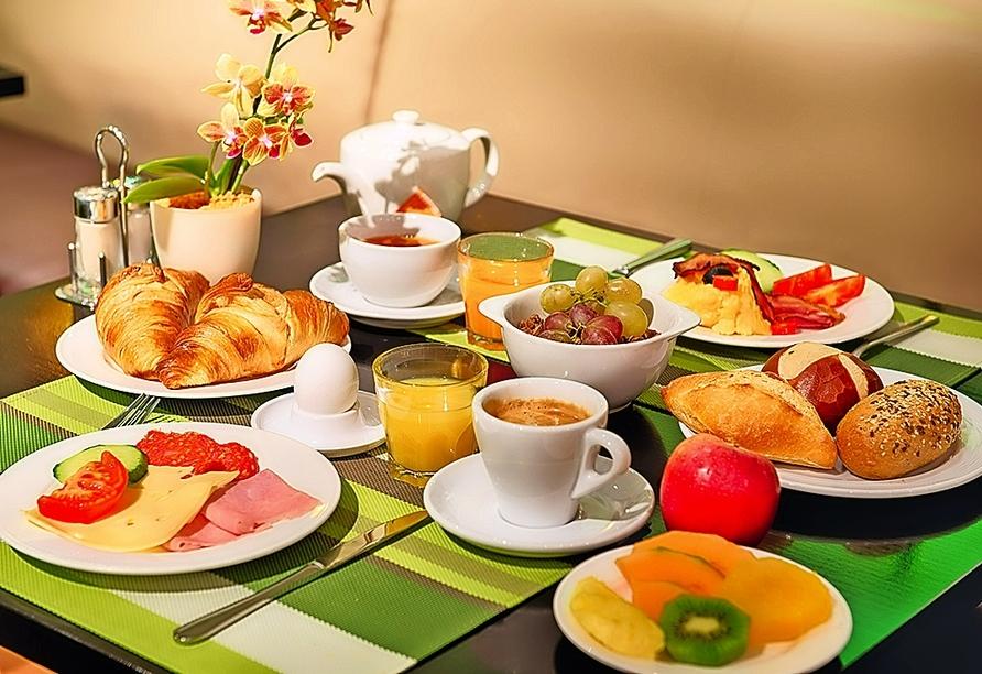 Stärken Sie sich beim Frühstück im Leonardo Boutique Hotel Rigihof Zurich für Ihren erlebnisreichen Tag in Zürich!