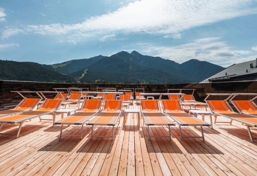 Das Kalkschmid – Familotel Tirol, Österreich, Seefeld, Dachterrasse