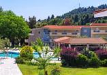 Willkommen im Hotel Alkion Resort in Kriopigi!