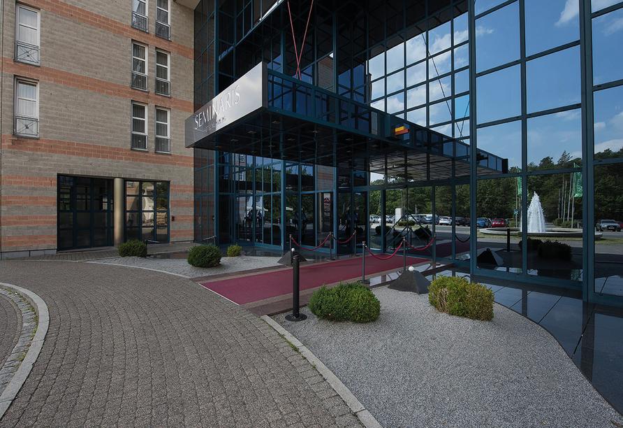 Außenansicht des Seminaris Hotel Nürnberg