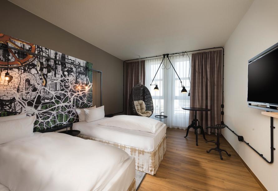 Beispiel eines Doppelzimmers im Seminaris Hotel Nürnberg