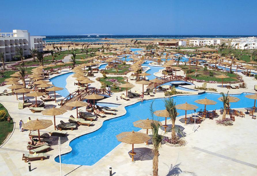 Nil Highlights & Badurlaub in Hurghada, Pool-Landschaft