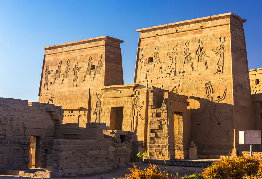 Nil Highlights & Badurlaub in Hurghada, Philae-Tempel