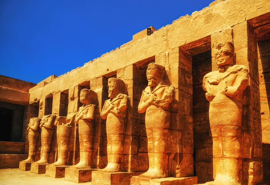 Nil Highlights & Badurlaub in Hurghada, Luxor Karnak-Temple