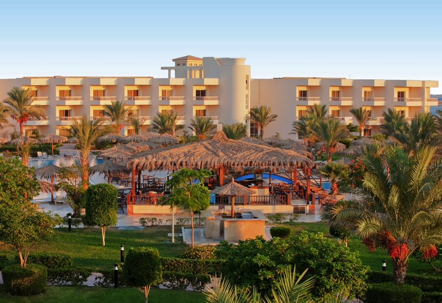Nil Highlights & Badurlaub in Hurghada, Außenansicht