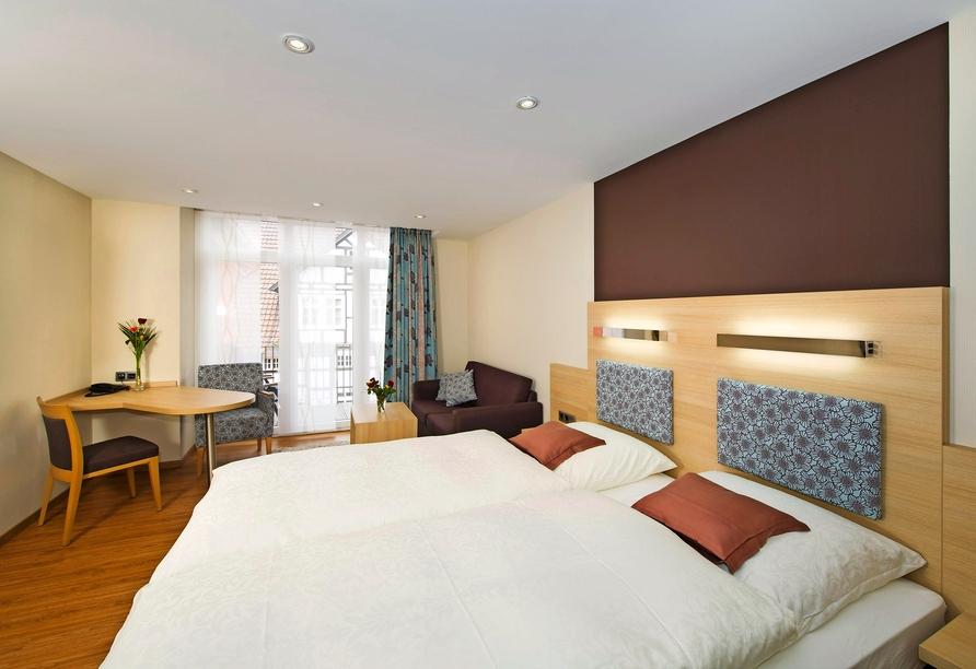 Hotel Storck in Bad Laer, Zimmerbeispiel Superior