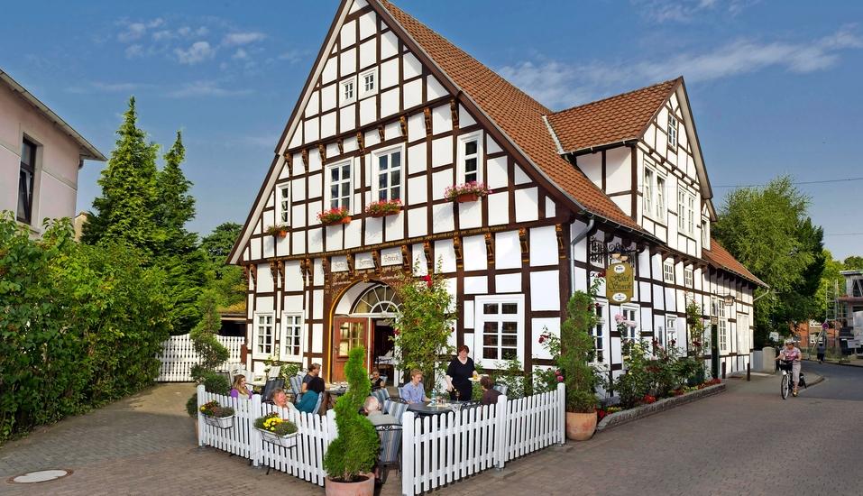 Hotel Storck in Bad Laer, Außenansicht
