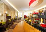 Hotel Storck in Bad Laer, Frühstück