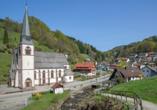Der schöne Kurort Bad Griesbach weiß zu begeistern.