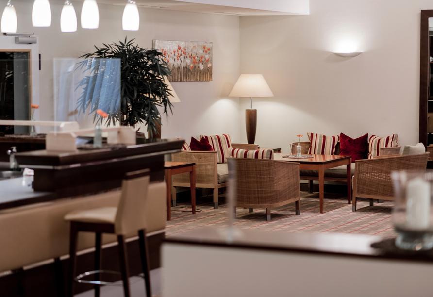 Lobby des Gesundheitshotel Summerhof