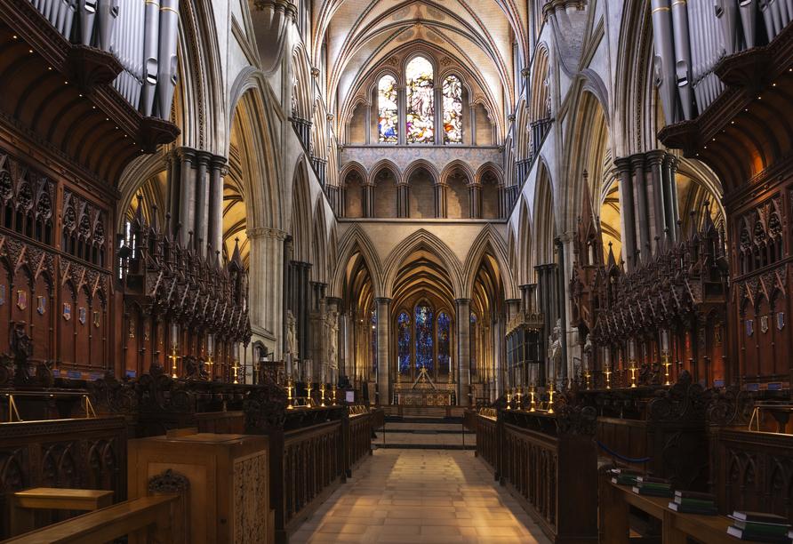 Die Höhepunkte Südenglands, Salisbury Cathedral