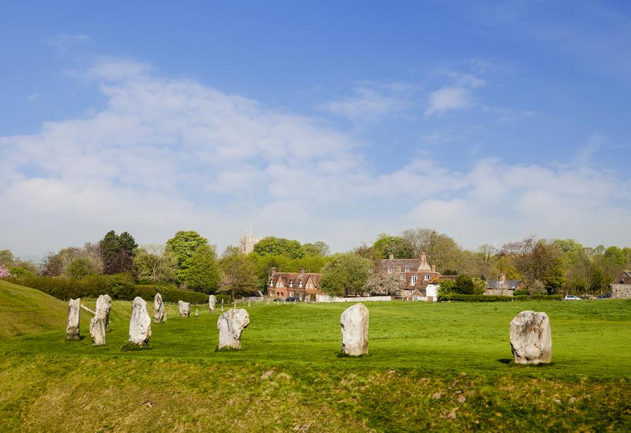 Die Höhepunkte Südenglands, Avebury Steinkreis