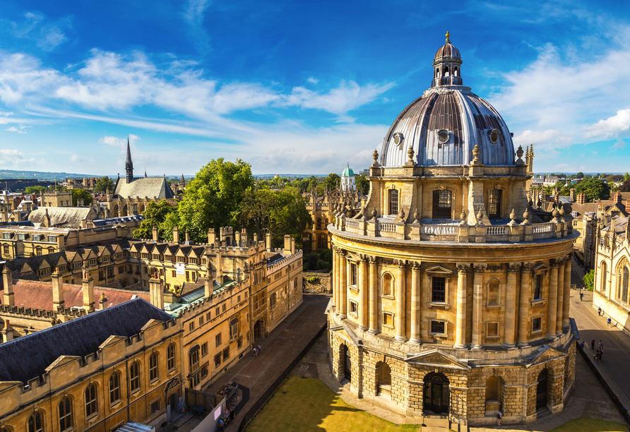 Die Höhepunkte Südenglands, Oxford Radcliffe Camera