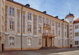 Das prächtige Barockschloss in Ettlingen