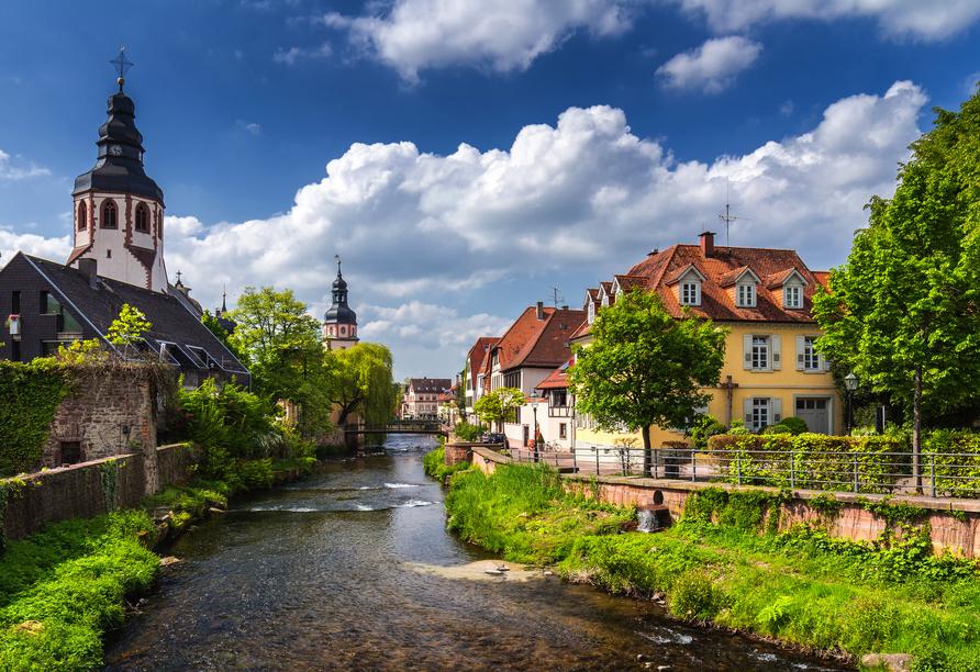 Ein Besuch der schönen Stadt Ettlingen lohnt sich.
