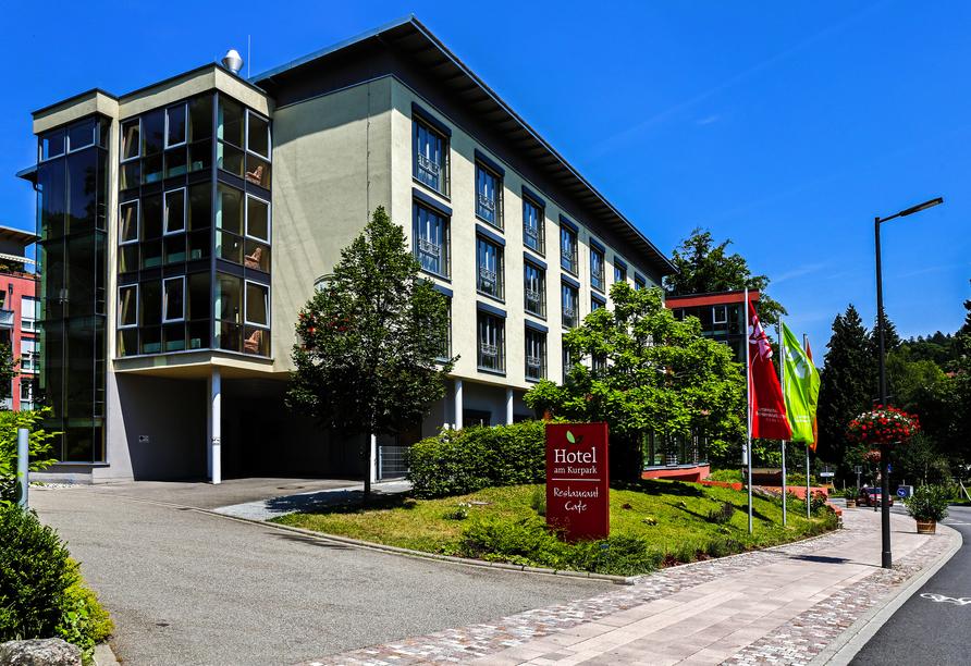 Außenansicht des Nashira Kurpark Hotels