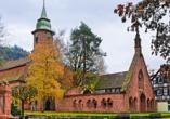 Die Klosterkirche Bad Herrenalb ist einen Besuch wert.