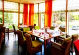 Lassen Sie sich im Restaurant des Hotels kulinarisch verwöhnen.