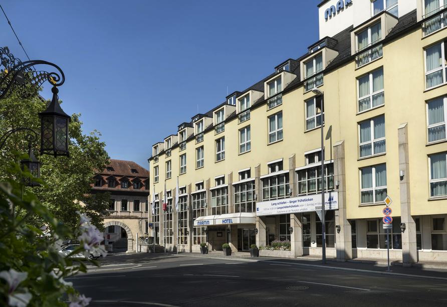 Außenansicht des Maritim Hotel Würzburg