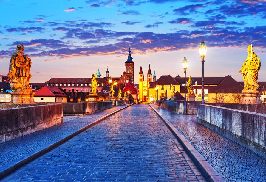 Genießen Sie Ihren Aufenthalt in Würzburg in vollen Zügen!