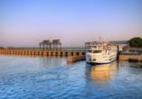 Entdeckerreise Nil, Schleuse, Esna