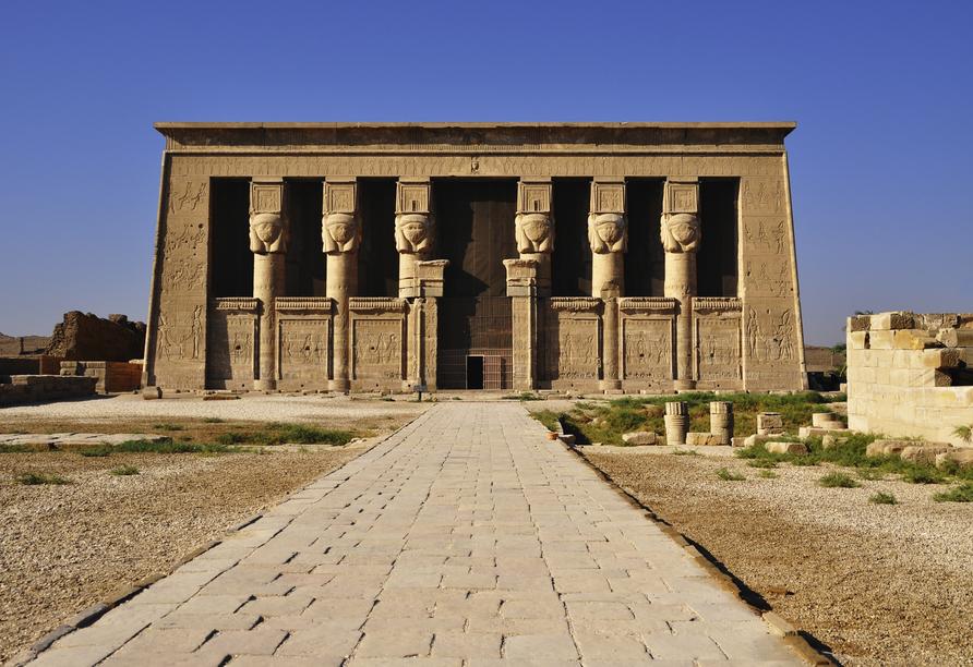 Entdeckerreise Nil, Dendera Tempel