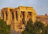 Entdeckerreise Nil, Kom Ombo, Doppeltempel