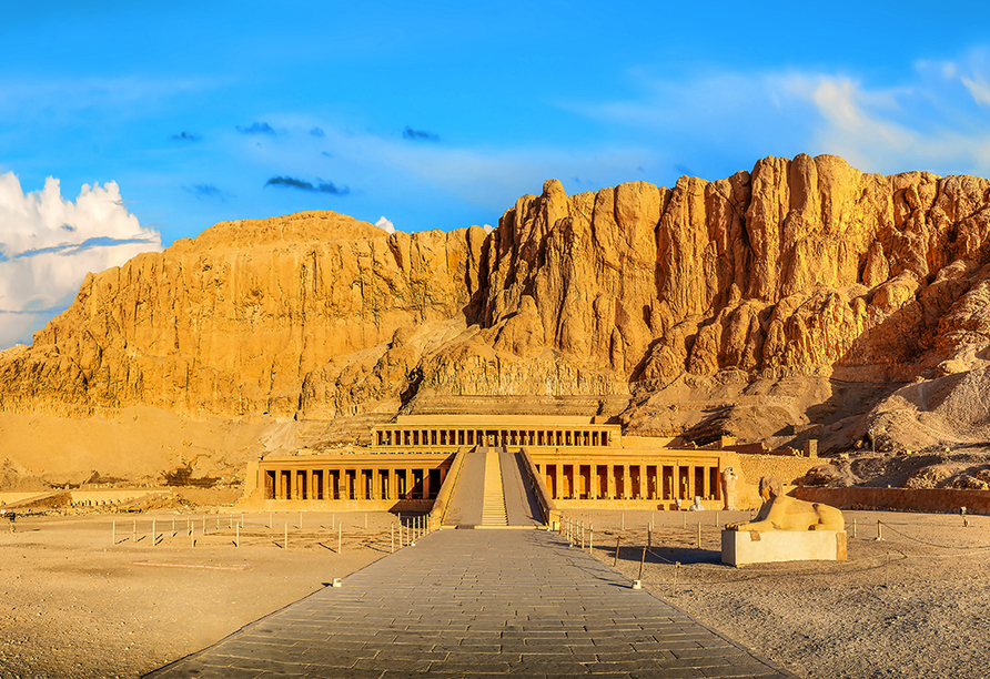 Entdeckerreise Nil, Hatshepsut-Tempel