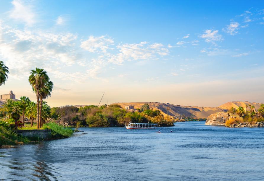 Entdeckerreise Nil, Bootstour, Assuan