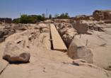 Entdeckerreise Nil, unvollendete Obelisken, Granit-Steinbruch